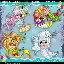 R4R - Four Seasons Mermaids