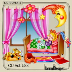 CU Vol. 588 Sweet Dreams