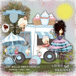 Lady Bella Sweetmobile - cu4cu