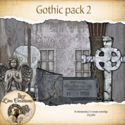 Gothic pack 2 (PU/CU) by Lins Creations