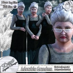 ADORABLE GRANDMA TUBE PACK CU