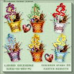 Designer Stash 36 - Easter Baskets - CU4CU/CU/PU