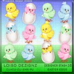 Designer Stash 38 - Easter Chicks - CU4CU/CU/PU