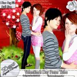 VALENTINE'S DAY POSER TUBE PACK CU