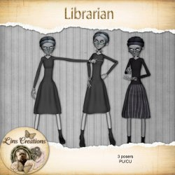 Librarian (PU/CU) by Lins Creations
