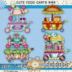 R4R - Cute Food/Vendor Carts