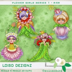 R4R - Flower Girls Series 1