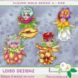 R4R - Flower Girls Series 2