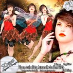 FLY ME TO THE FAIRY AUTUMN REALM POSER TUBE PACK CU