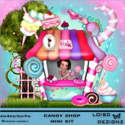 Candy Shop Mini Kit - cu4cu